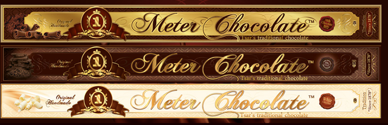 1 meter chocolate