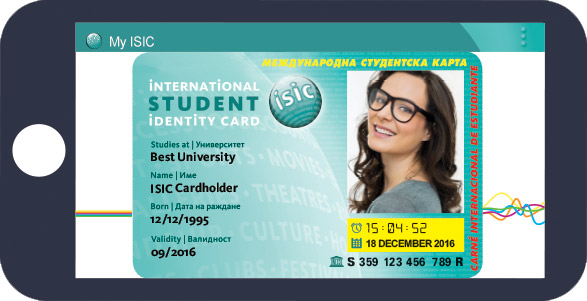 my isic virtual card
